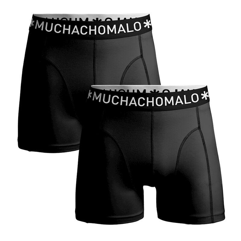 Men 2-pack shorts Microfiber Black/Black