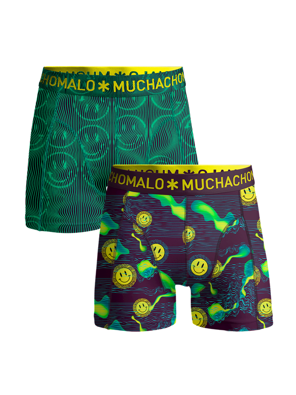 Men 2-pack shorts Acid House 1