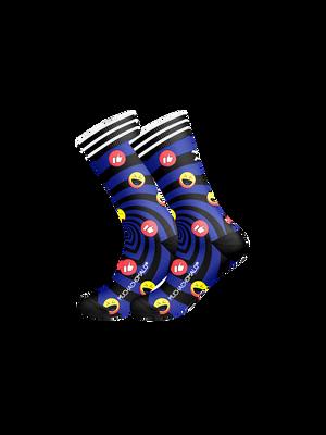 Heren 1-pack sokken Social Media