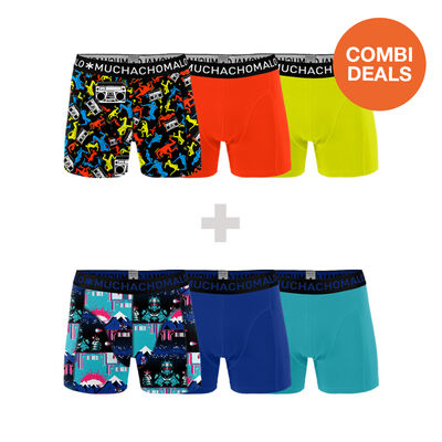 2 x Heren 3-pack Boxershorts Break + Endboss