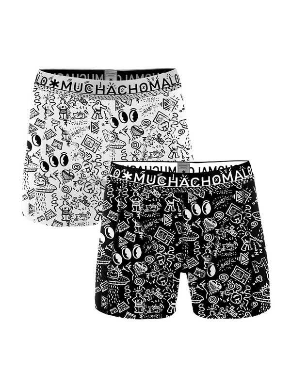 Boys 1-pack  short Iconic Art