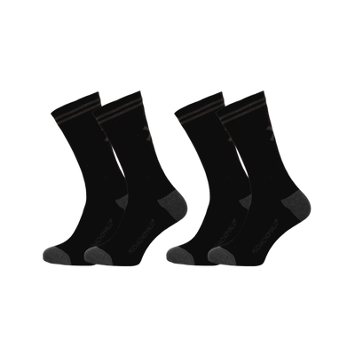 Men 2-pack socks solid