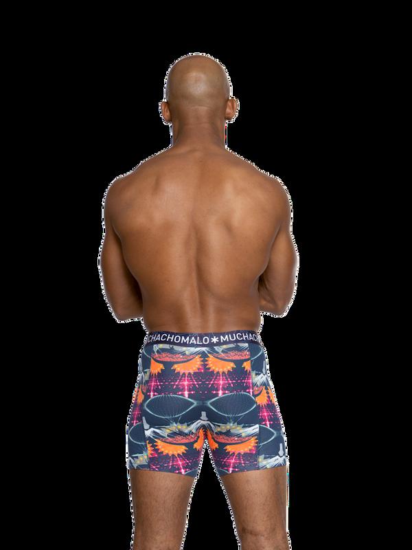 Men 2-pack shorts EDM music 4
