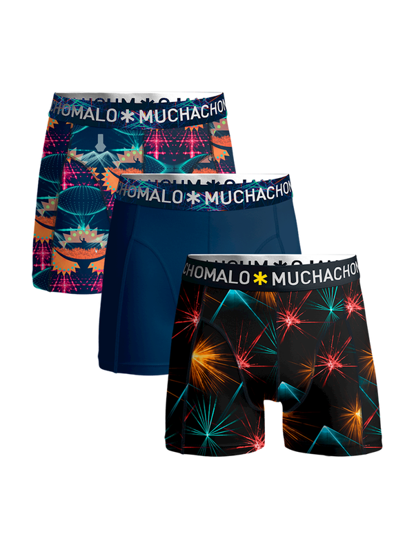 Men 3-pack shorts EDM music 1