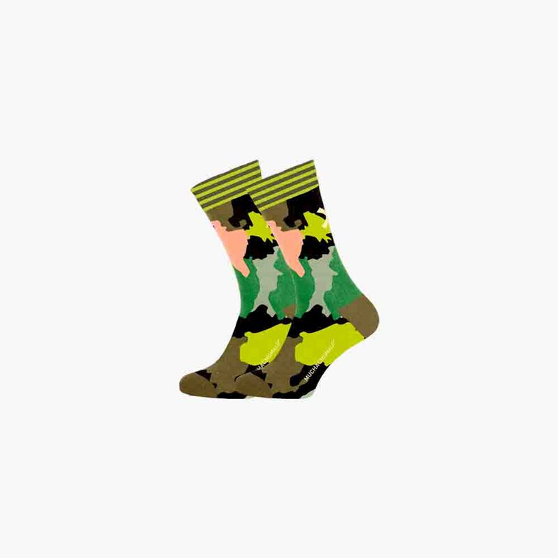 1-PACK SOCKS WORLD AT YOUR FEET 1