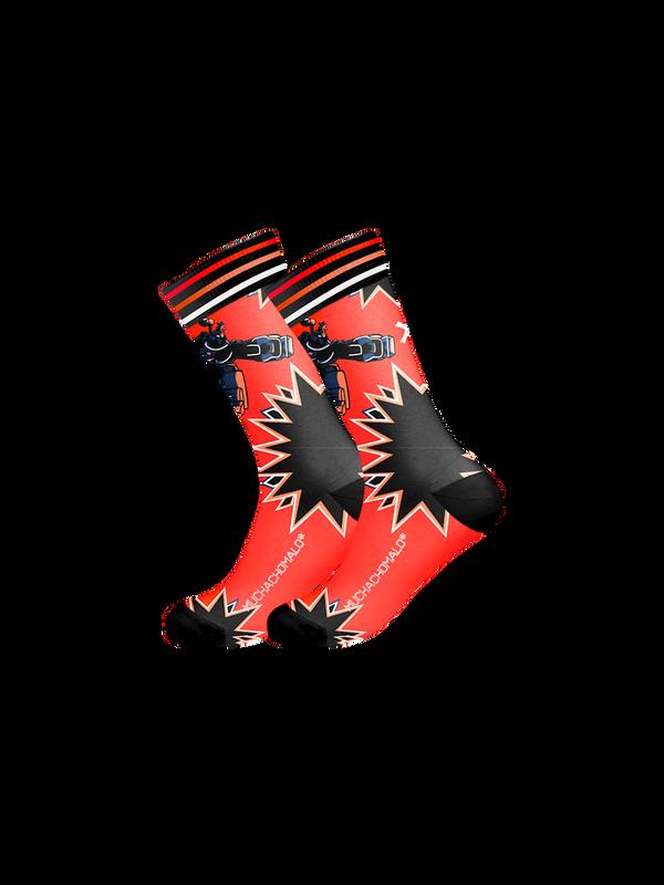 Men 1-pack socks Pattern GADGT 1