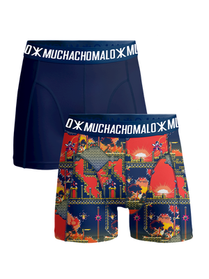 Jongens 2-pack Boxershorts Super 16bit