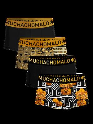 Men 4-pack trunks Mayans