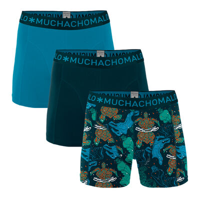 Heren 3-pack Boxershorts Plastic