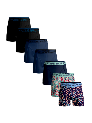 Heren 7-pack boxershorts Japan + effen